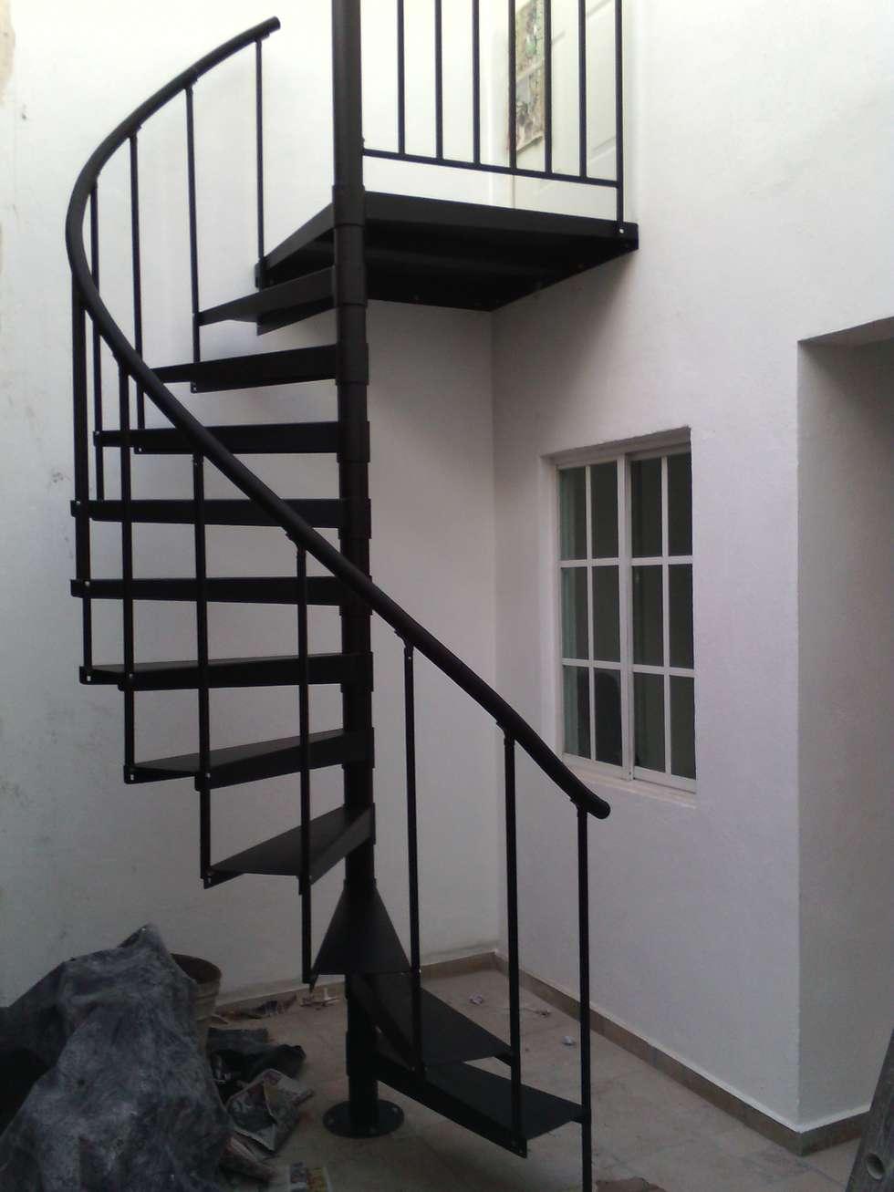 Stairs By Suvire Escaleras Homify - Escaleras-de-caracol