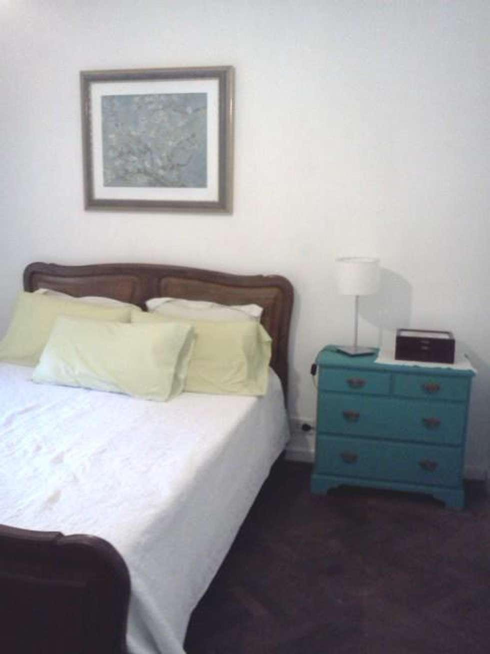 Antes, Estilo Romantico: Dormitorios de estilo clásico por OOST / Sabrina Gillio
