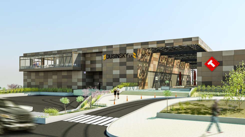 Camara 1 - Vista general: Shoppings y centros comerciales de estilo  por DUSINSKY S.A.