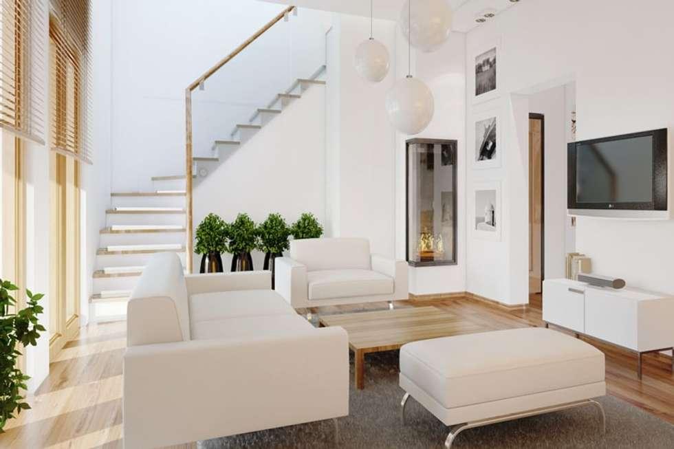 Phòng khách đẹp:  Phòng khách by Thương hiệu Nội Thất Hoàn Mỹ