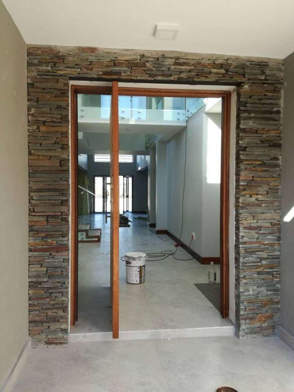 Main Entrance:  Doors by The Bearded Architect