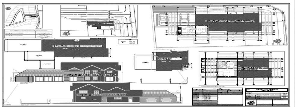 Regularizacion Vivienda : Casas de madera de estilo  por Aedo Arquitectos & Design