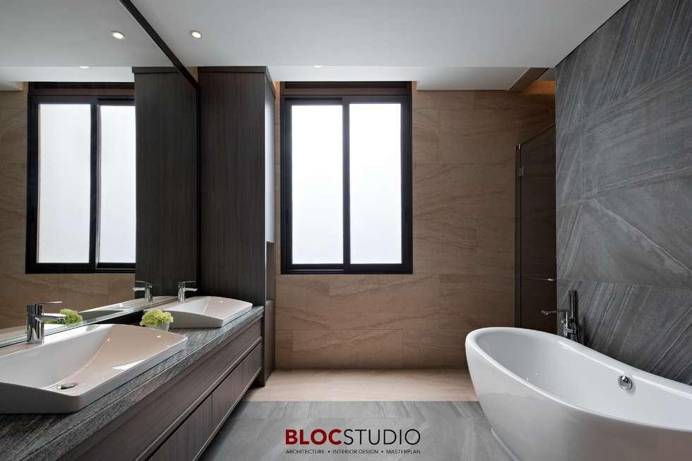 Moderne badkamer door blocstudio homify