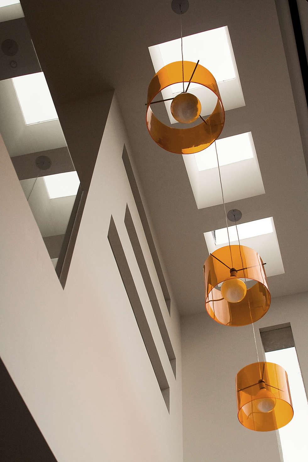 Pent House  RuizPerez-Cielo Raso: Casas de estilo moderno por RIVAL Arquitectos  S.A.S.