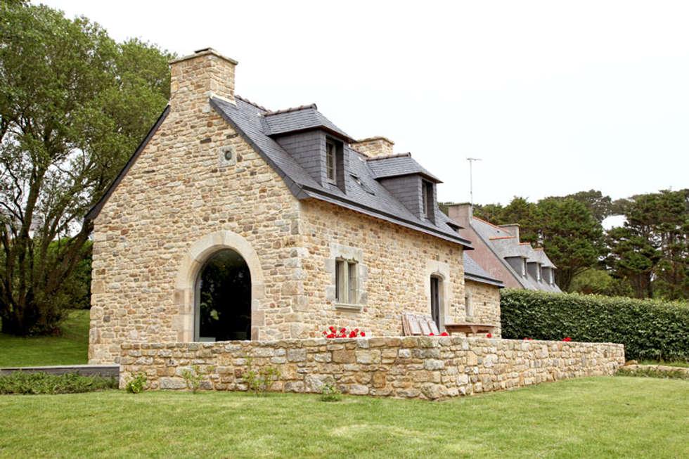 """Un """"penty"""" très breton: Maisons de campagne de style  par Marwine leilde - Homify"""