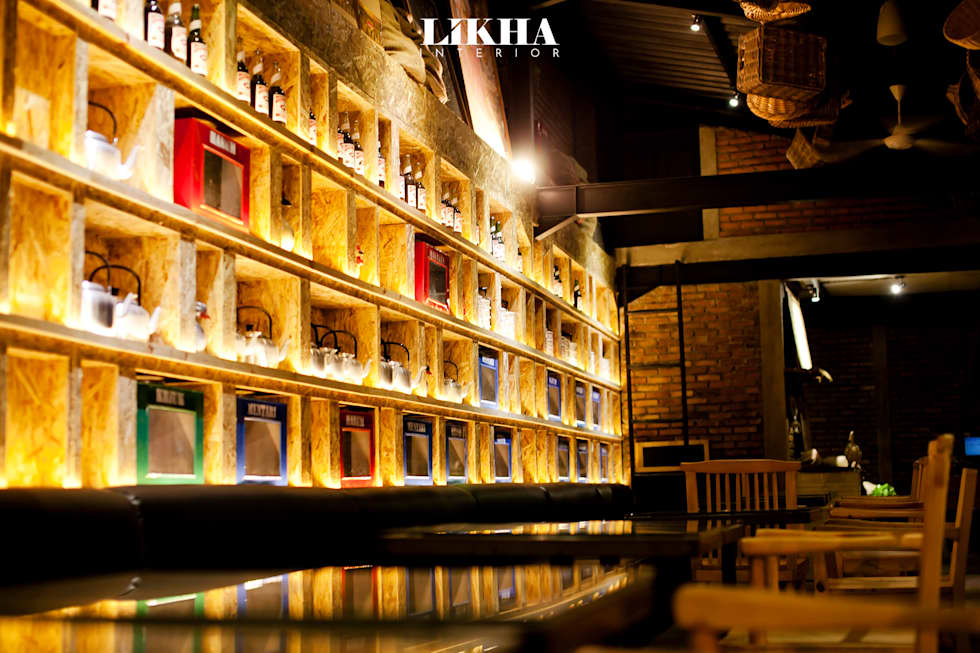 Pasar Cisangkuy (Indoor Area):  Restoran by Likha Interior