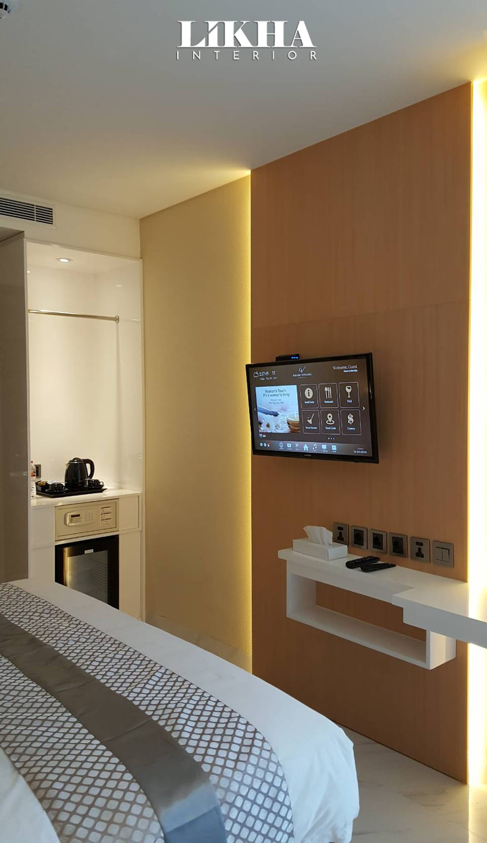 Kabinet TV:  Hotels by Likha Interior