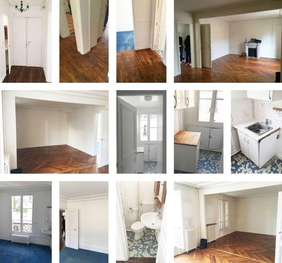 Un aperçu de l'appartement:  de style  par Clo - Architecture & Design
