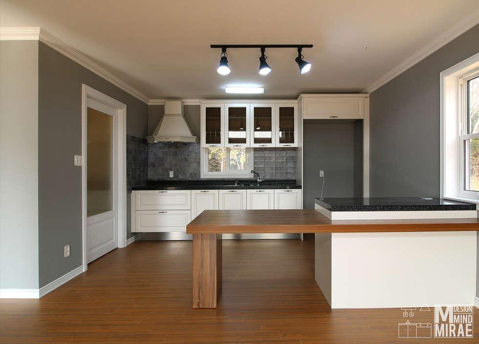 modern Kitchen by Design Mind Mirae