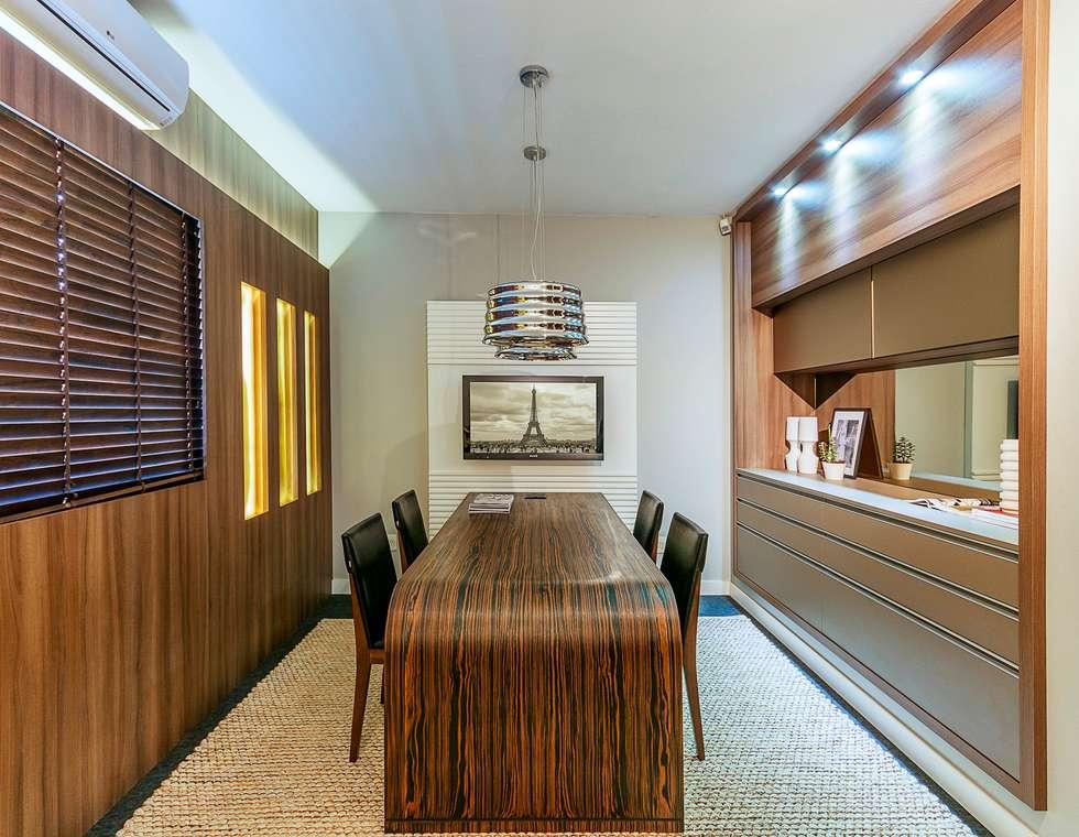 Modern Study Office By Erlon Tessari Arquitetura E Design De Interiores