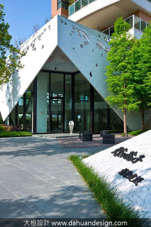 大桓建築設計 | 台中 | 天空的院子:  華廈 by 大桓設計顧問有限公司