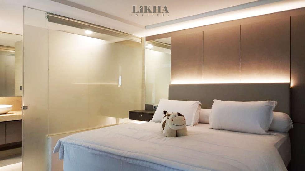 Kamar Tidur Utama:  Kamar Tidur by Likha Interior