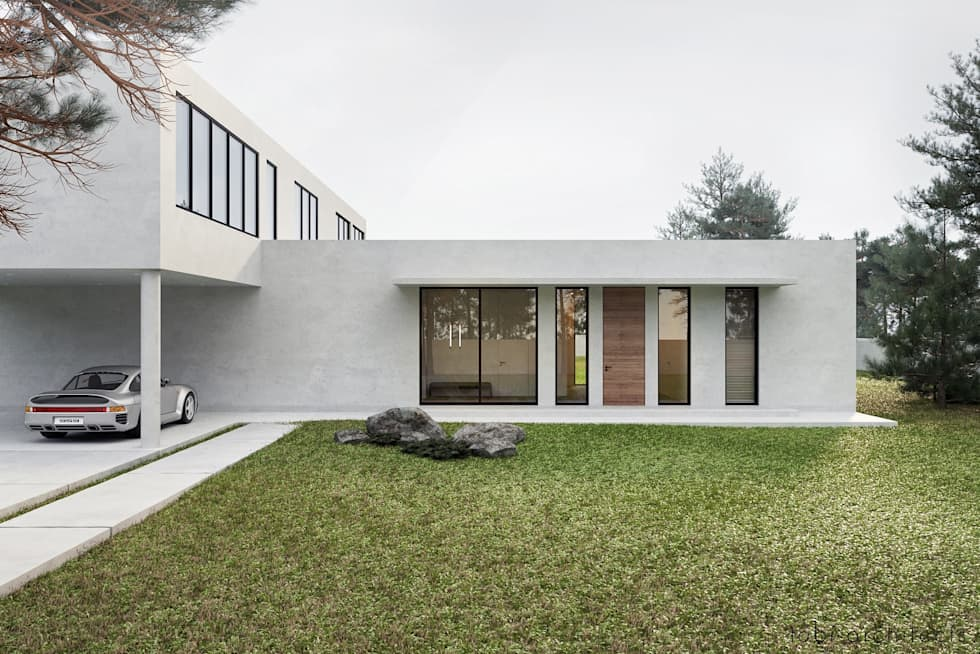 Terrace house by Tobi Architects