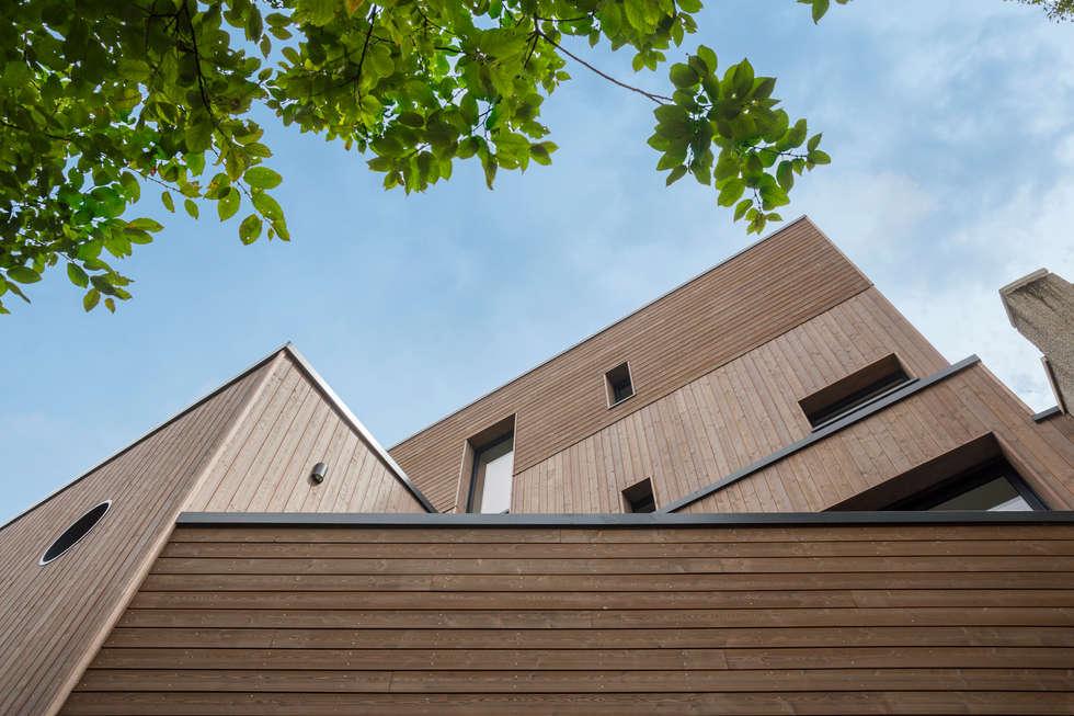 Maiosn sur mesure d'architecte: Lieux d'événements de style  par Tempobois®- C-tempo SAS