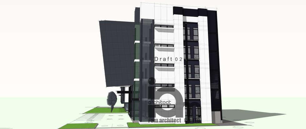อาคารสำนักงานใหญ่  บริษัท  ไทยสวิชบอร์ด  แอนด์ เมตัลเวอร์ค  จำกัด  TAMCO:  อาคารสำนักงาน by i am architect CO.,Ltd.