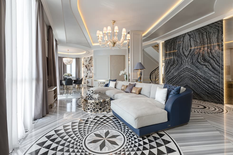 classic Living room by NG-STUDIO Interior Design