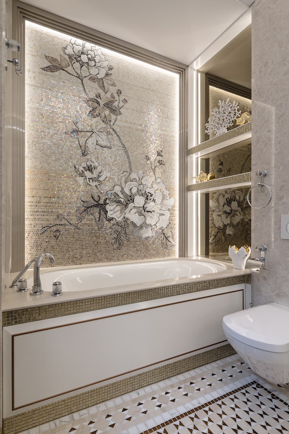 classic Bathroom by NG-STUDIO Interior Design