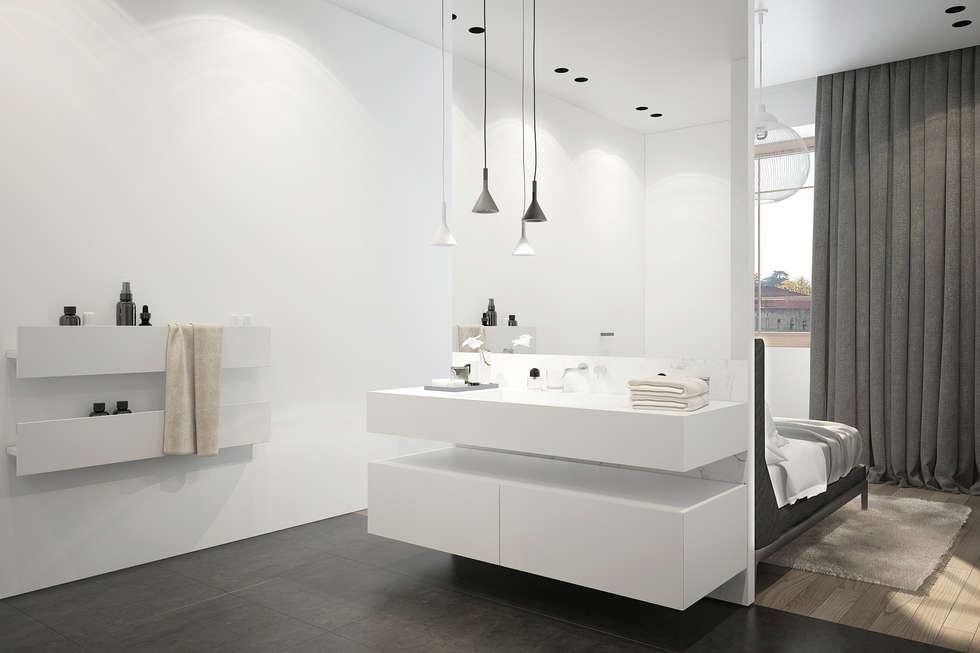 Salle de bains: Salle de bains de style  par réHome
