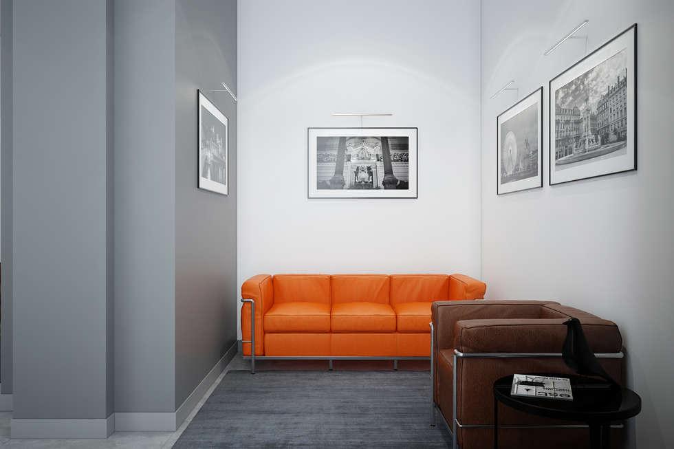 Salle d'attente : Bureaux de style  par réHome