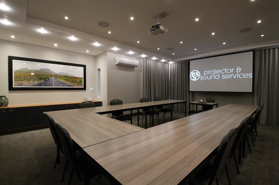 Conference Room Projector:  Hotels by Projector & Sound Services (PTY) Ltd
