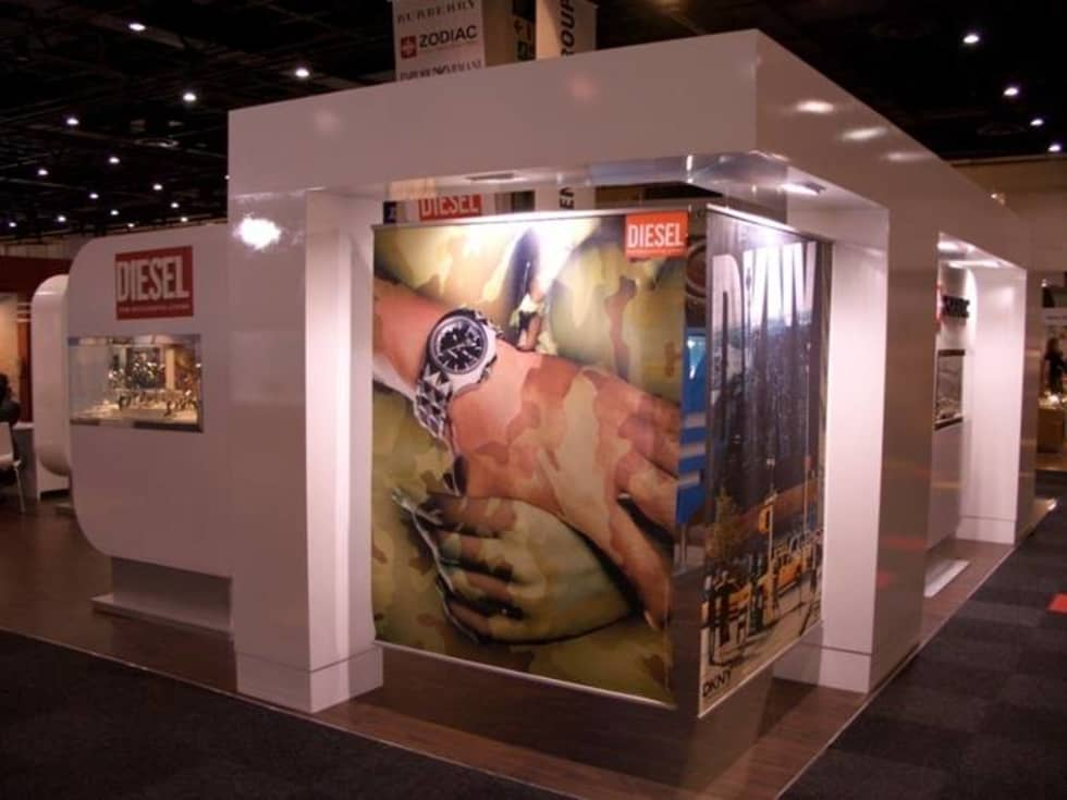 Exhibition Stand: modern Study/office by PurespaceDesign