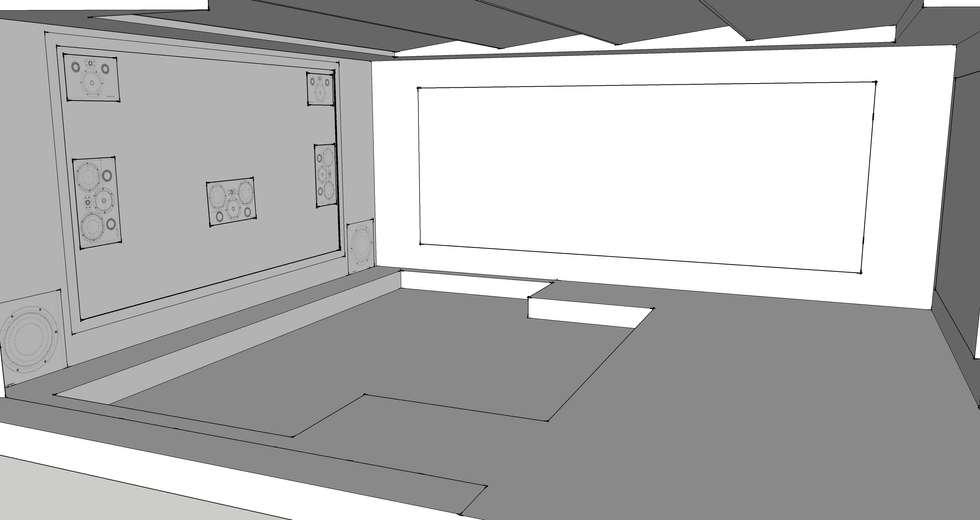 Cinema Design:  Electronics by Projector & Sound Services (PTY) Ltd
