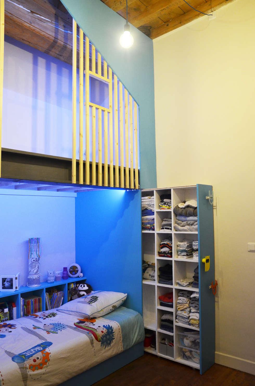 Aménagement d'une chambre d'enfants: Chambre garçon de style  par Kauri Architecture
