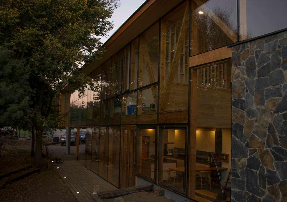 Iluminacion: Casas de estilo moderno por PhilippeGameArquitectos