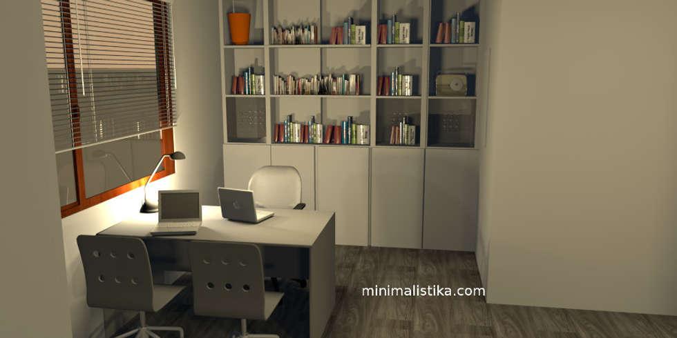 Loft Familiar: Anexos de estilo minimalista por Minimalistika.com