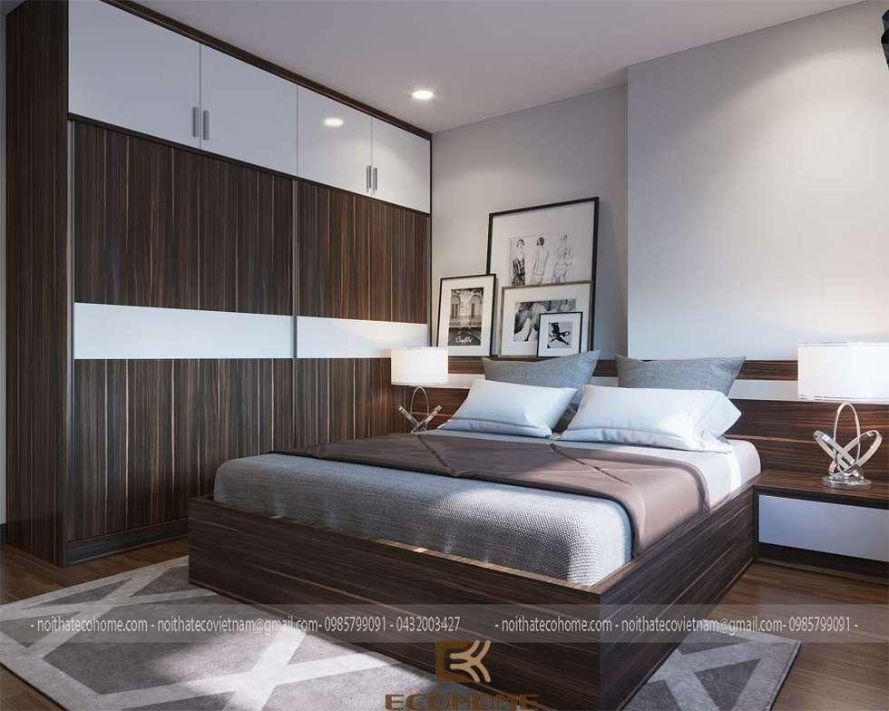 Phòng ngủ con 1:  Phòng ngủ by Công Ty TNHH Xây Dựng & Nội Thất ECO Việt Nam