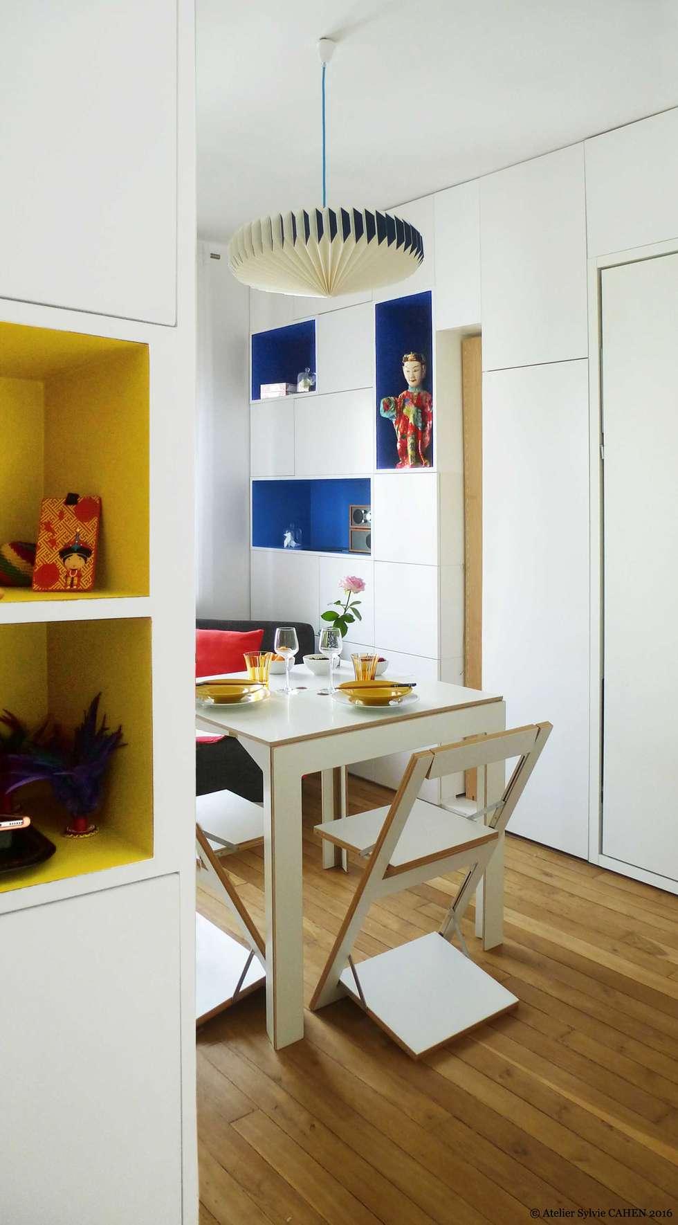 ORIGAMI: Salle à manger de style de style Moderne par Atelier Sylvie Cahen