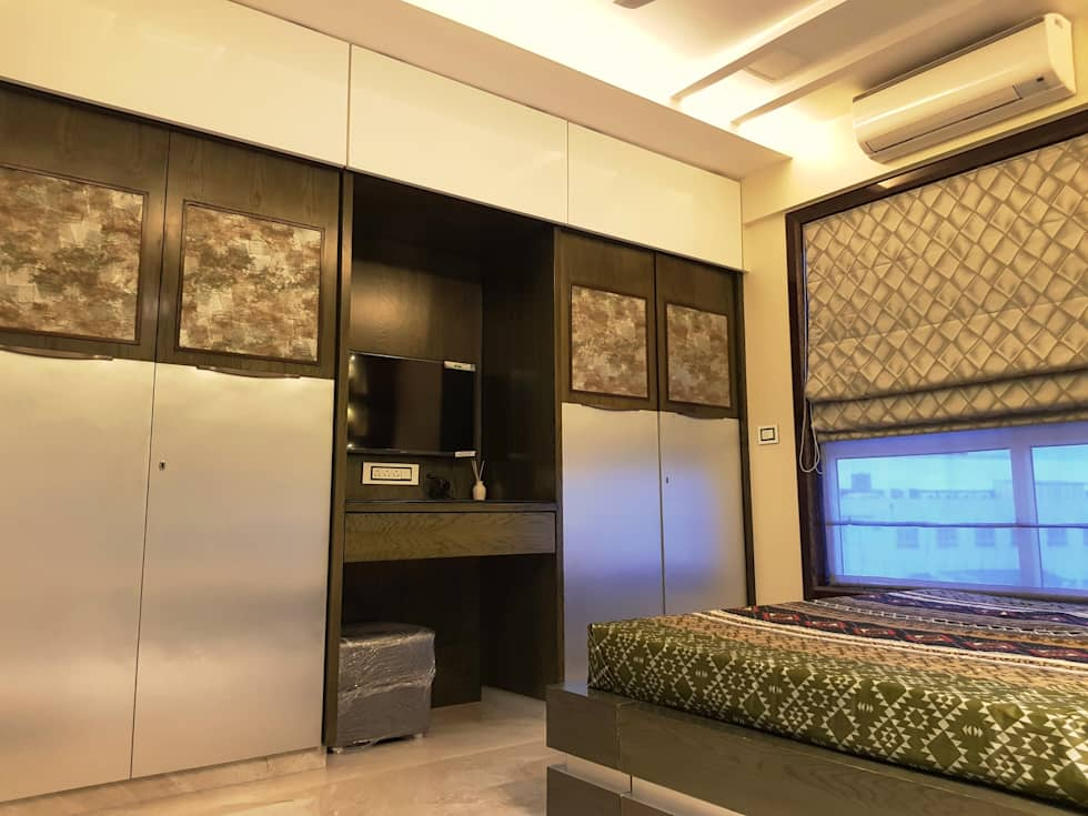 Asian Bedroom By Inter Designs