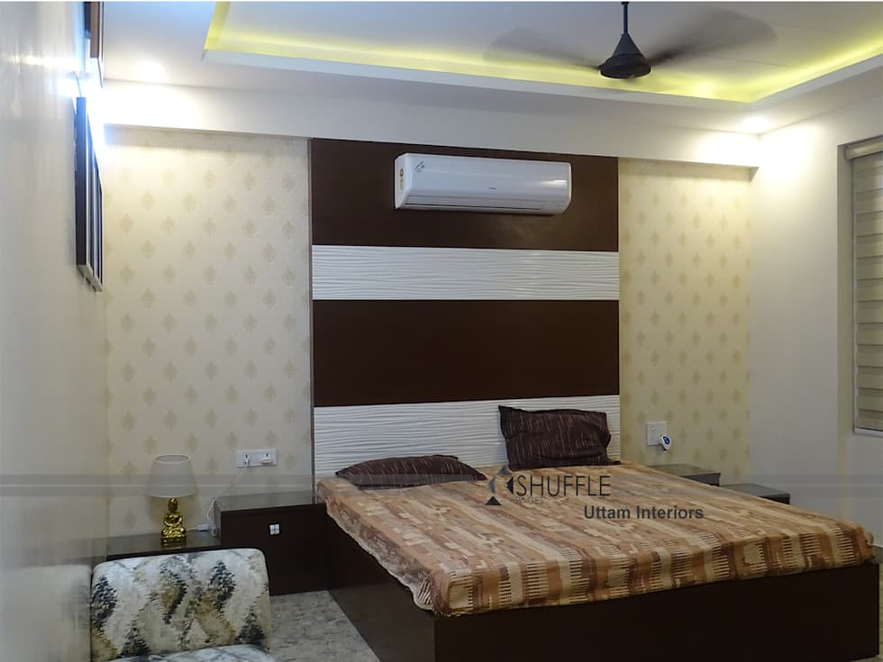 Master Room: classic Bedroom by Shuffle pages