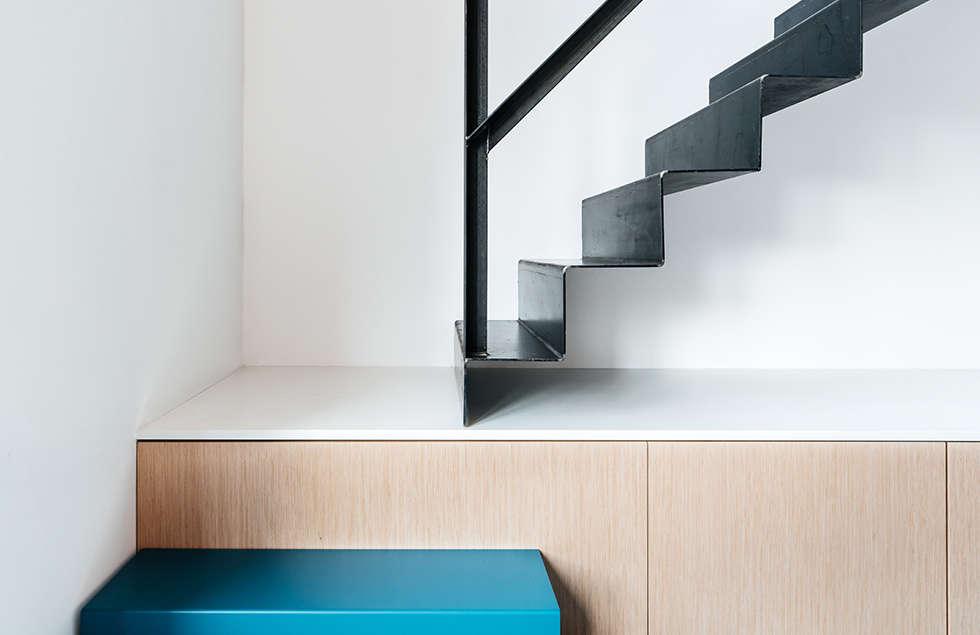 Interieur ontwerp rotterdam trap door studio kustlijn