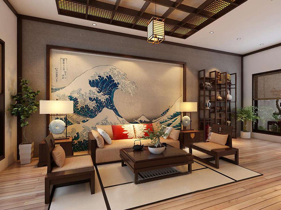 Phòng khách by laixaynhapho92
