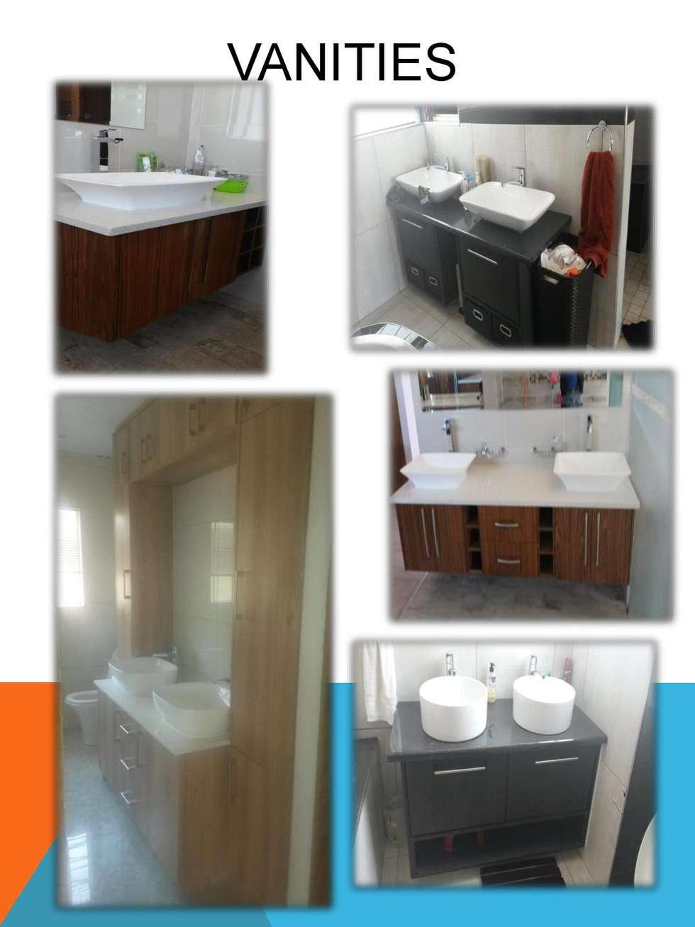 Vanities: modern Bathroom by SCD Kitchens