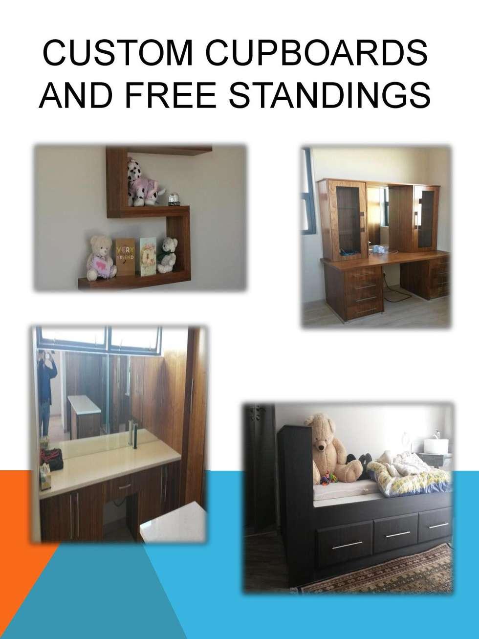 Custom bedroom cupboards: modern Bedroom by SCD Kitchens