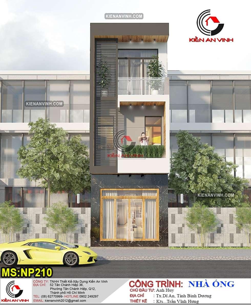 Công ty thiết kế và xây dựng nhà uy tín tại Tp.HCM:  Nhà by Kiến An Vinh