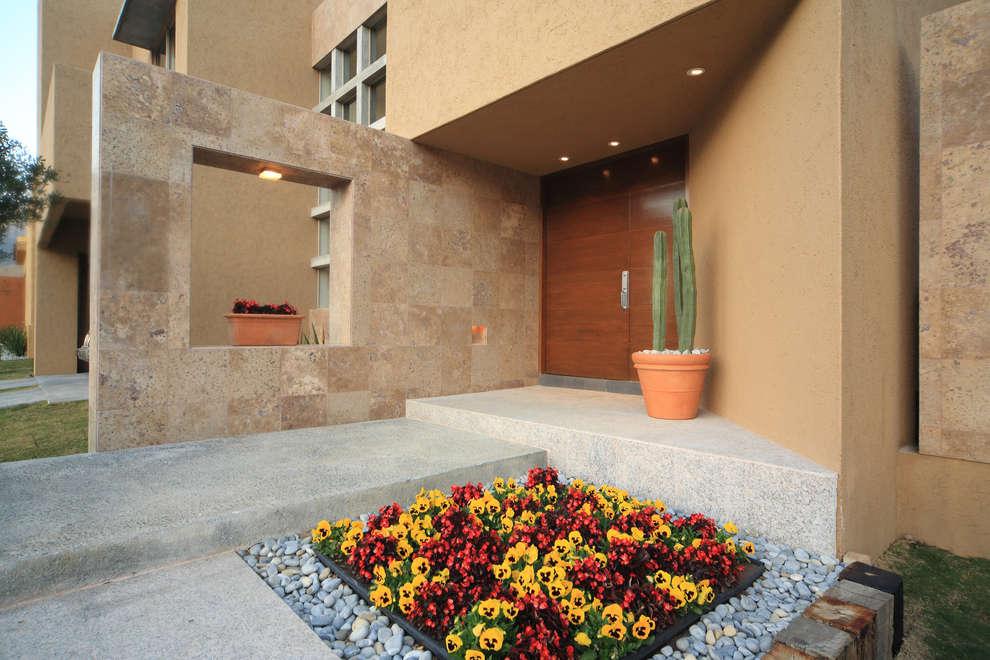 10 cores para fazer a fachada de sua casa parecer moderna for Modelos de jardineras para casas