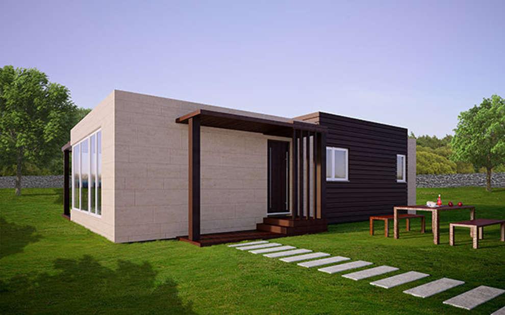 Maisons de style de style Moderne par Casas Cube