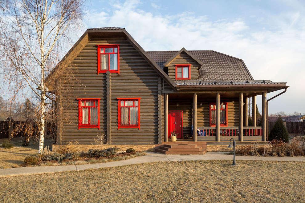 Tatiana Ivanova Design:  tarz Kütük ev