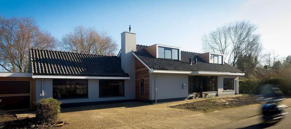 voorgevel: moderne Huizen door BALD architecture