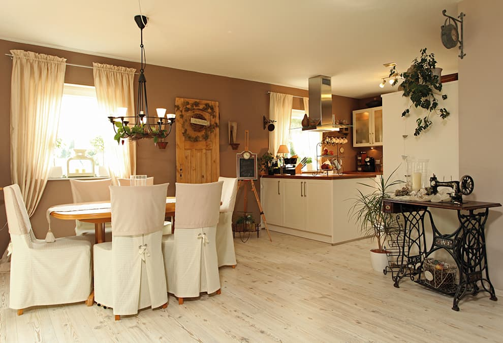 homify: kırsal tarz tarz Yemek Odası