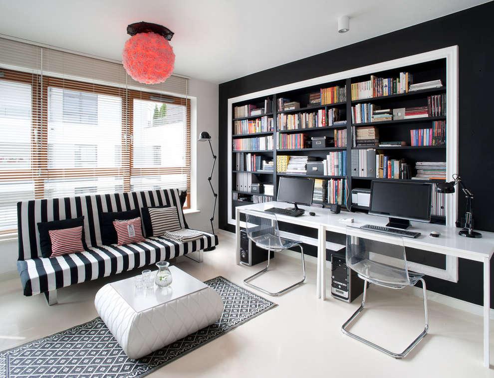 Salas de estar escandinavas por Sic! Zuzanna Dziurawiec