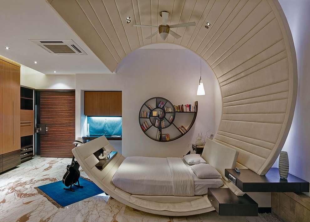 Dormitorios de estilo moderno por TAO Architecture Pvt. Ltd.