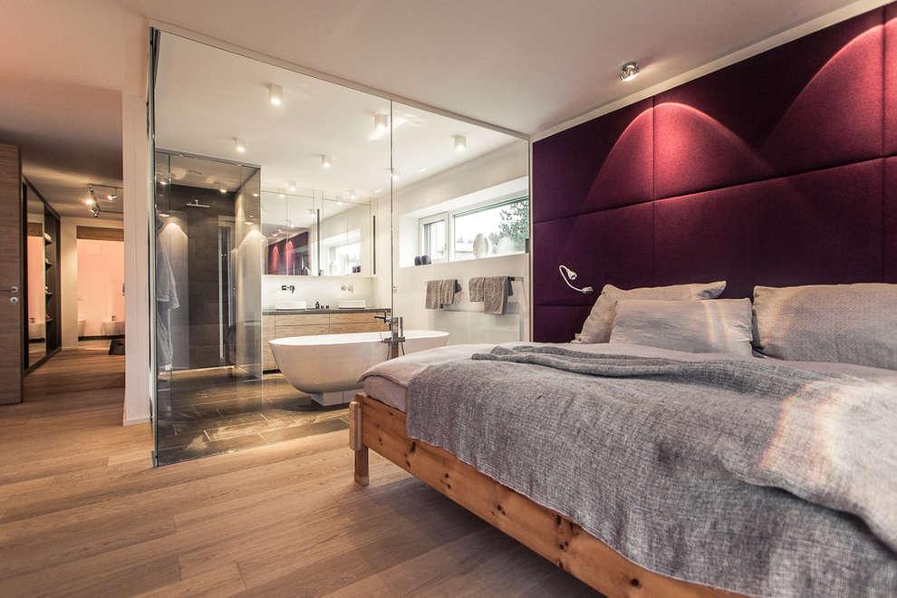 Dormitorios de estilo moderno por Meissl Architects ZT GmbH