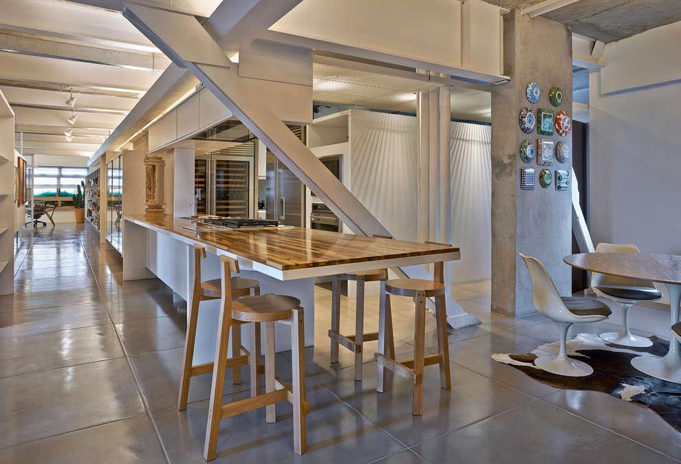 Cozinha: Cozinhas minimalistas por Piratininga Arquitetos Associados