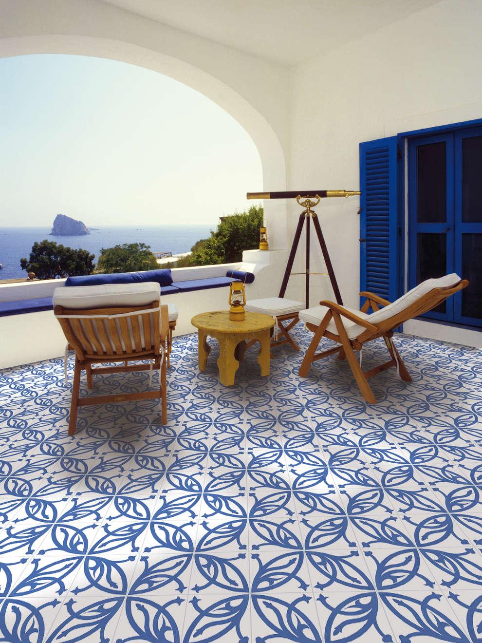 9 pisos para tu patio demasiado bellos para ser reales - Azulejos de terraza ...