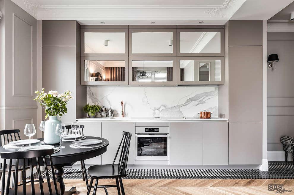 SAS: eklektik tarz tarz Mutfak