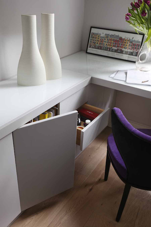 Chalcot Crescent Living in Space Study/office